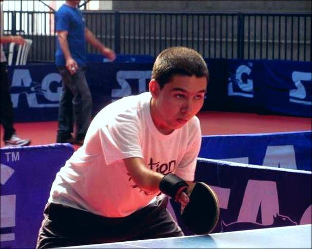 tênis de mesa adaptado- paralímpiadas - de papo com Claudinha