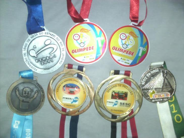 tênis de mesa- medalhas- paralímpiadas - de papo com Claudinha