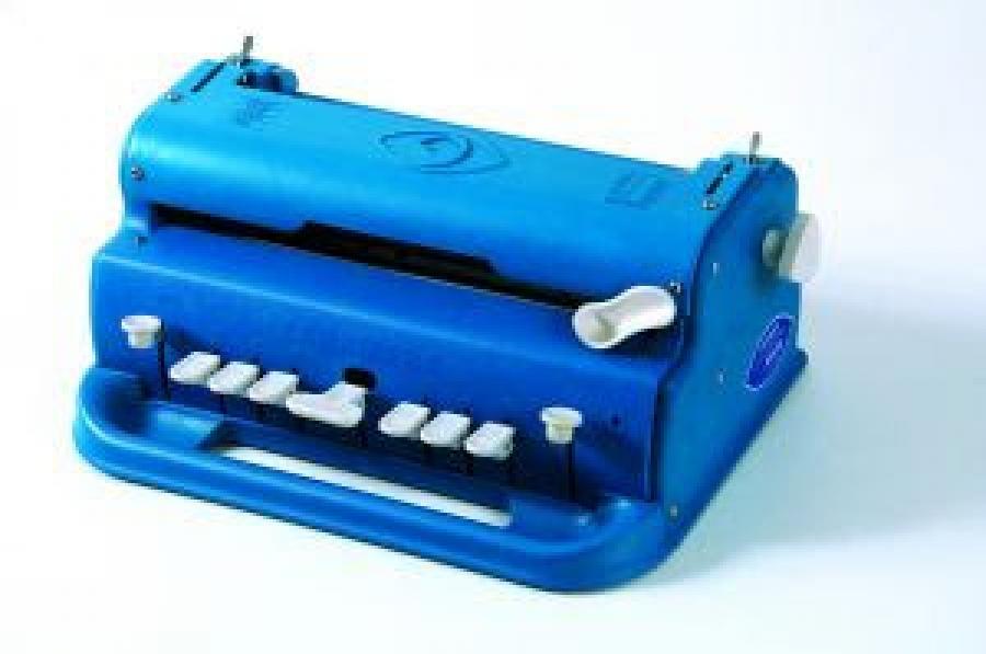 Resultado de imagem para máquinas de escrever em Braille