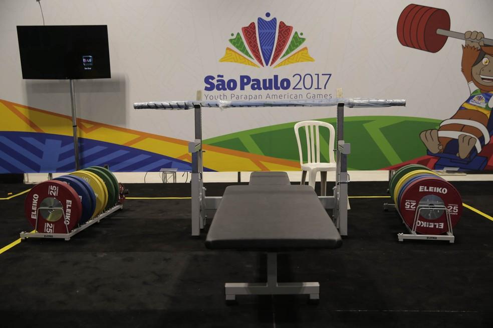 Itens de halterofilismo adquiridos para a Rio 2016 são considerados os melhores do mundo neste esporte (Foto: Leandro Martins/MPIX/CPB)