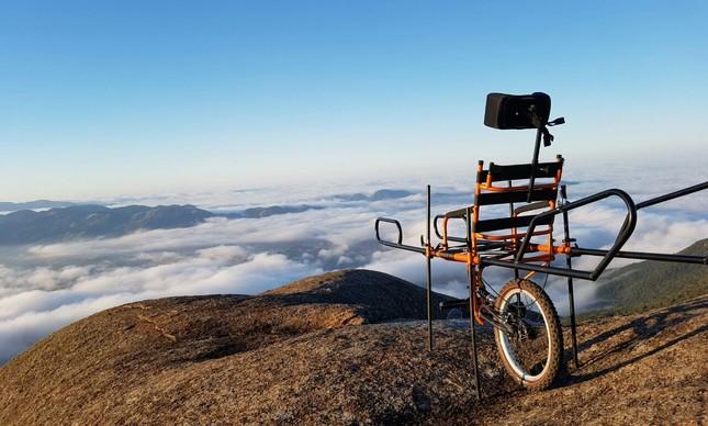 A cadeira de rodas Juliette