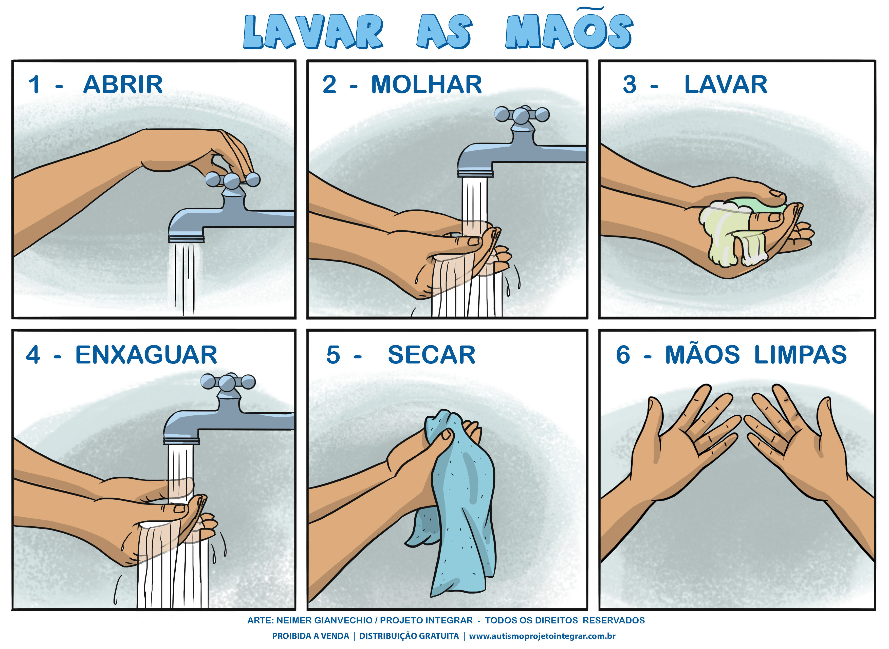 a-lavar-as-maos