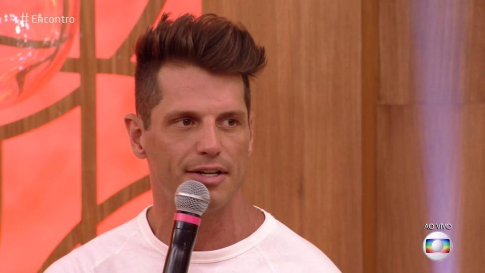 Fernando Fernandes diz que buscava força para romper limites quando alguém duvidava do que ele podia fazer — Foto: TV Globo