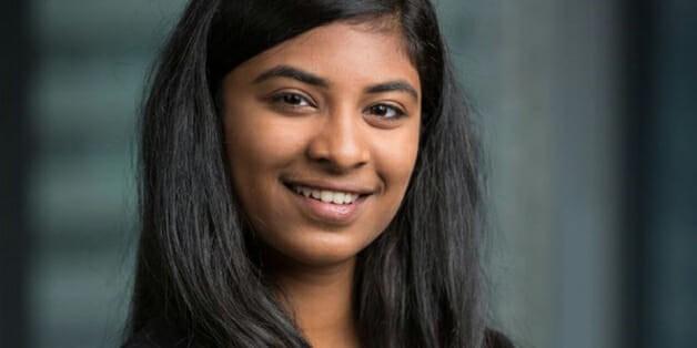 A jovem empresária Riya Karumanchi (Foto: Divulgação)