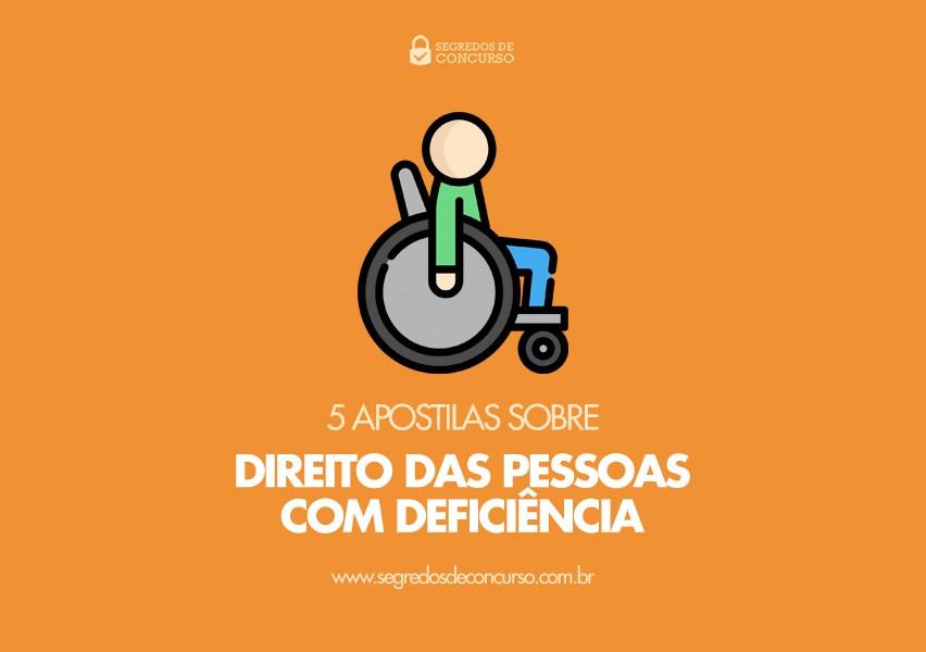 Direito das pessoas com deficiência para concurso